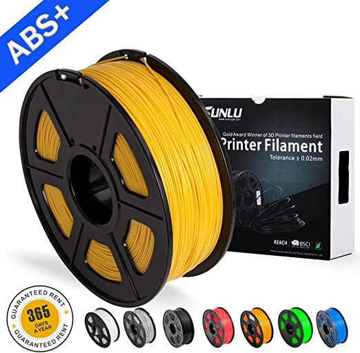 SUNLU ABS Plus 3D Printer Filament, ABS Filament 1.75 mm, 3D ...