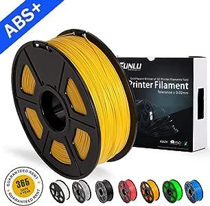 SUNLU ABS Plus 3D Printer Filament, ABS Filament 1.75 mm, 3D ...