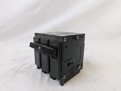 Eaton BR340 Plug-On Mount Type BR Circuit Breaker 3-Pole 40 Amp 240 Volt AC