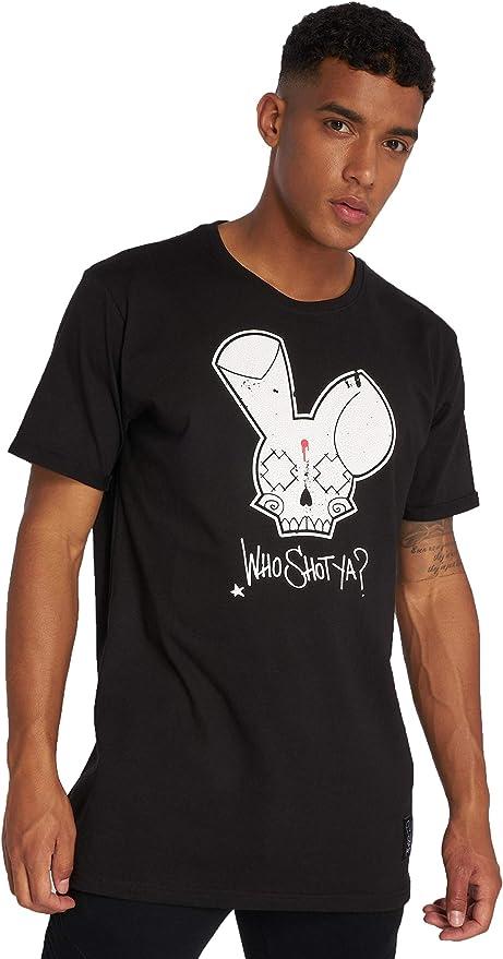 Who Shot Ya? Hombres Ropa Superior/Camiseta Grunge: Amazon.es: Ropa y accesorios