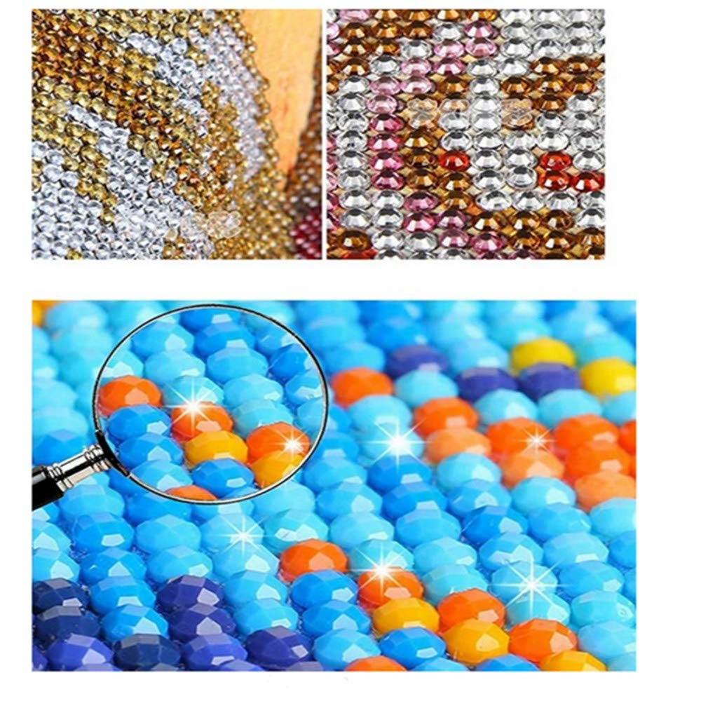 DIY 5D Diamond Painting Kit Full Diamond Twitters and Fragrance Embroidery Rhinestone Cross Stitch Arts Craft Supply for Home Wall Decor15.5X15.6 inch
