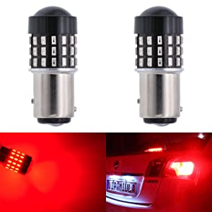 TOOGOO 2Pcs 6 Oval White 22 LED Truck Taillight Transparent Reversing Tail Light for Truck Trailer Warning Light