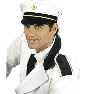 marinaio nave capitano cappello navy Marins Admiral regolabile tappo ... a1f7a779746d