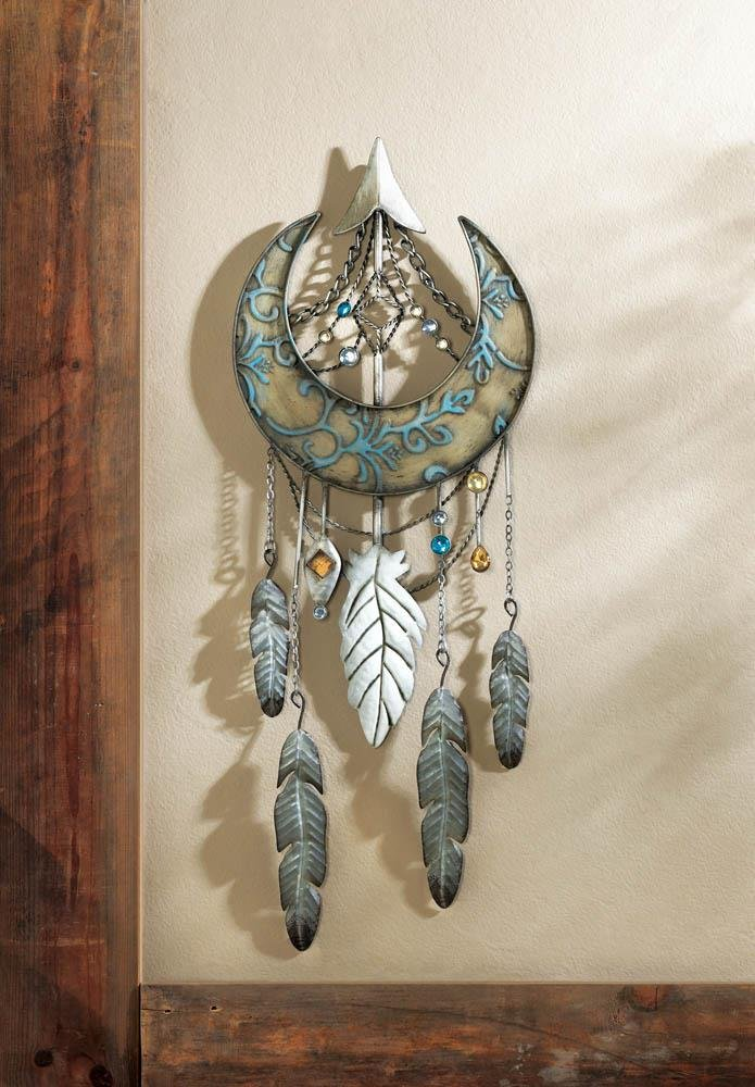 Home Wall Decor Beautiful Design Jewels And Feather Crescent Moon Dreamcatcher by 25 Home Decor