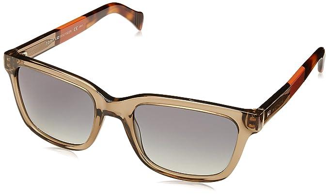 Tommy Hilfiger TH 1289/S DX Gafas de Sol, Mud Orange, 53 ...