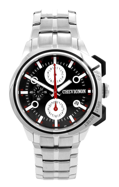 Chevignon Herren-Armbanduhr Analog Quarz Edelstahl 92-0054-503