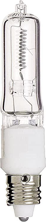 AVBcable.com Satco S3157 75W Halogen T4 Clear 2000 Average Rated Hours; 1250 Lumens