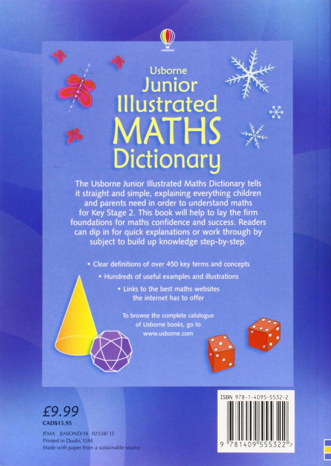 Junior Illustrated Maths Dictionary (Usborne Dictionaries): Amazon ...