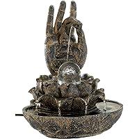 Gifts & Decor Regalos y decoración Mano de Buda Piedra como Mesa de Interior Fuente de Agua