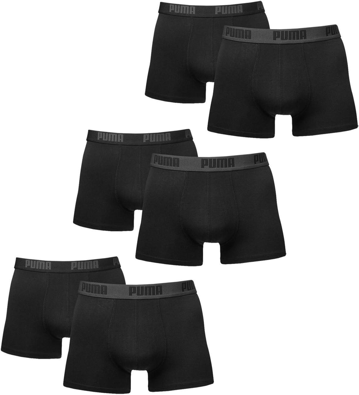 in diversi colori PUMA BASIC 6 Pz Boxer corti da uomo