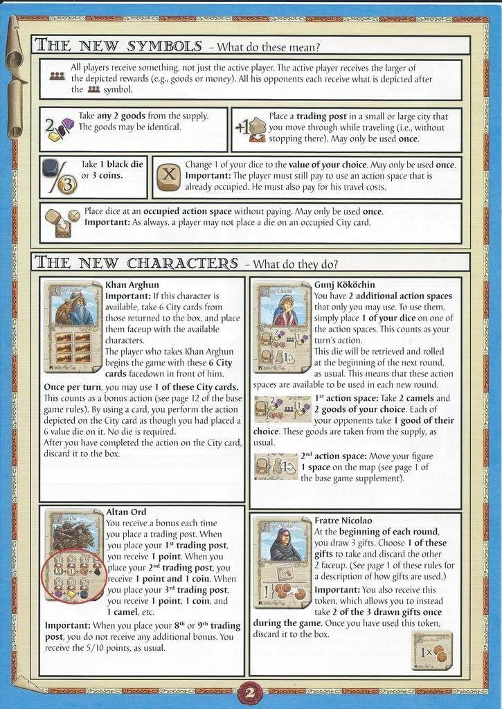 The New Characters Mini Expansion Marco Polo