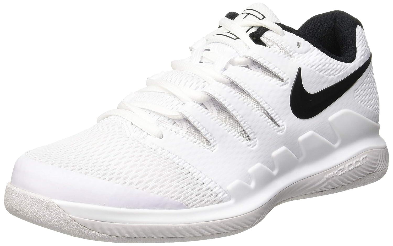 MultiCouleure (blanc noir Vast gris 101) 49.5 EU Nike Air Zoom Vapor X CPT, Chaussures de Tennis Homme