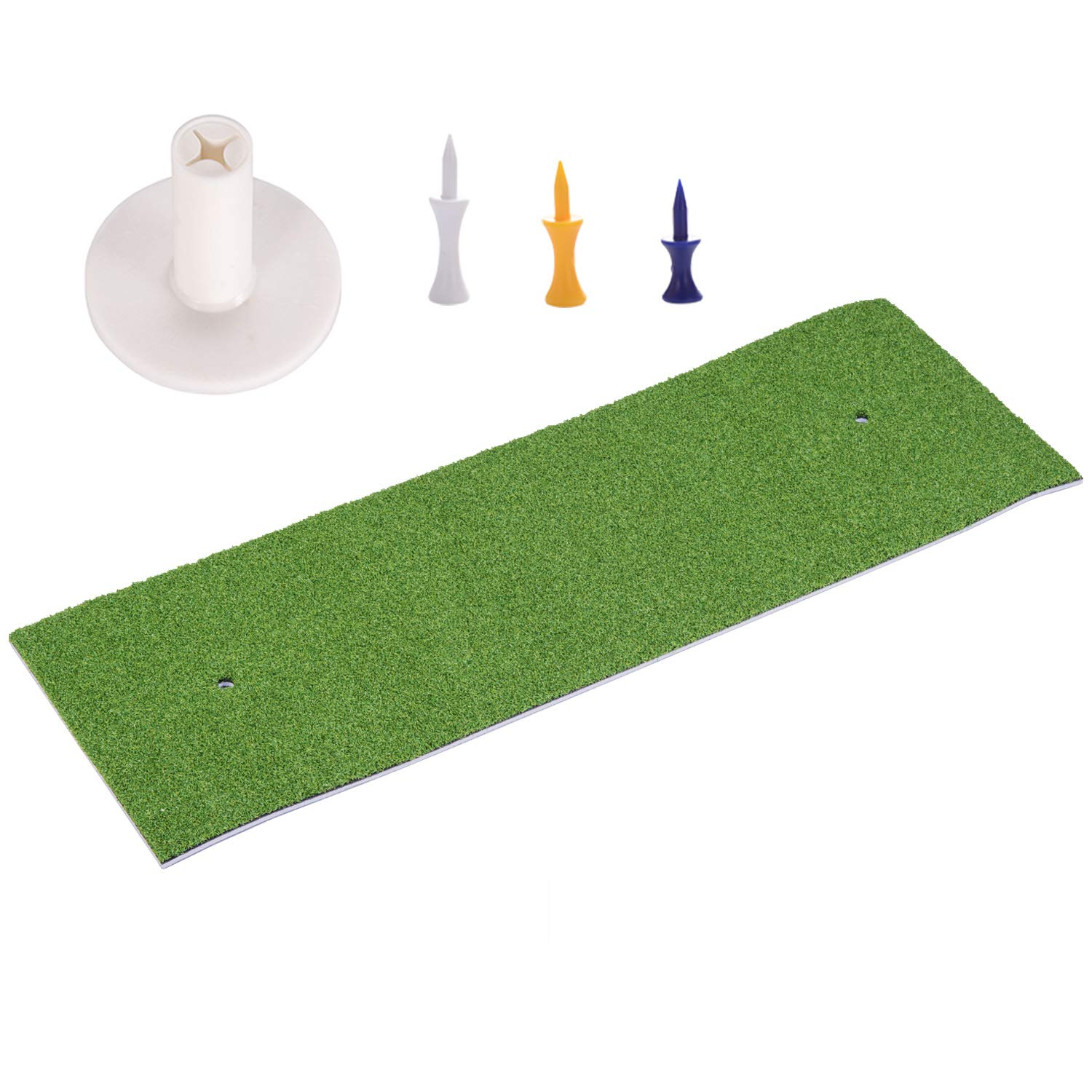 SkyLife Golf Practice Mat 1'x3' Driving Chipping Putting Hitting Turf Training Equipment for Backyard Home Garage Outdoor (1' x 3') by SkyLife