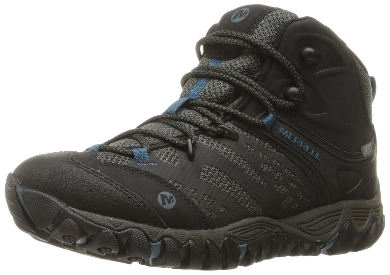 Merrell Women's All Out Blaze Vent Mid Waterproof Hiking Shoe B018WGCAWO 9 B(M) US|Black