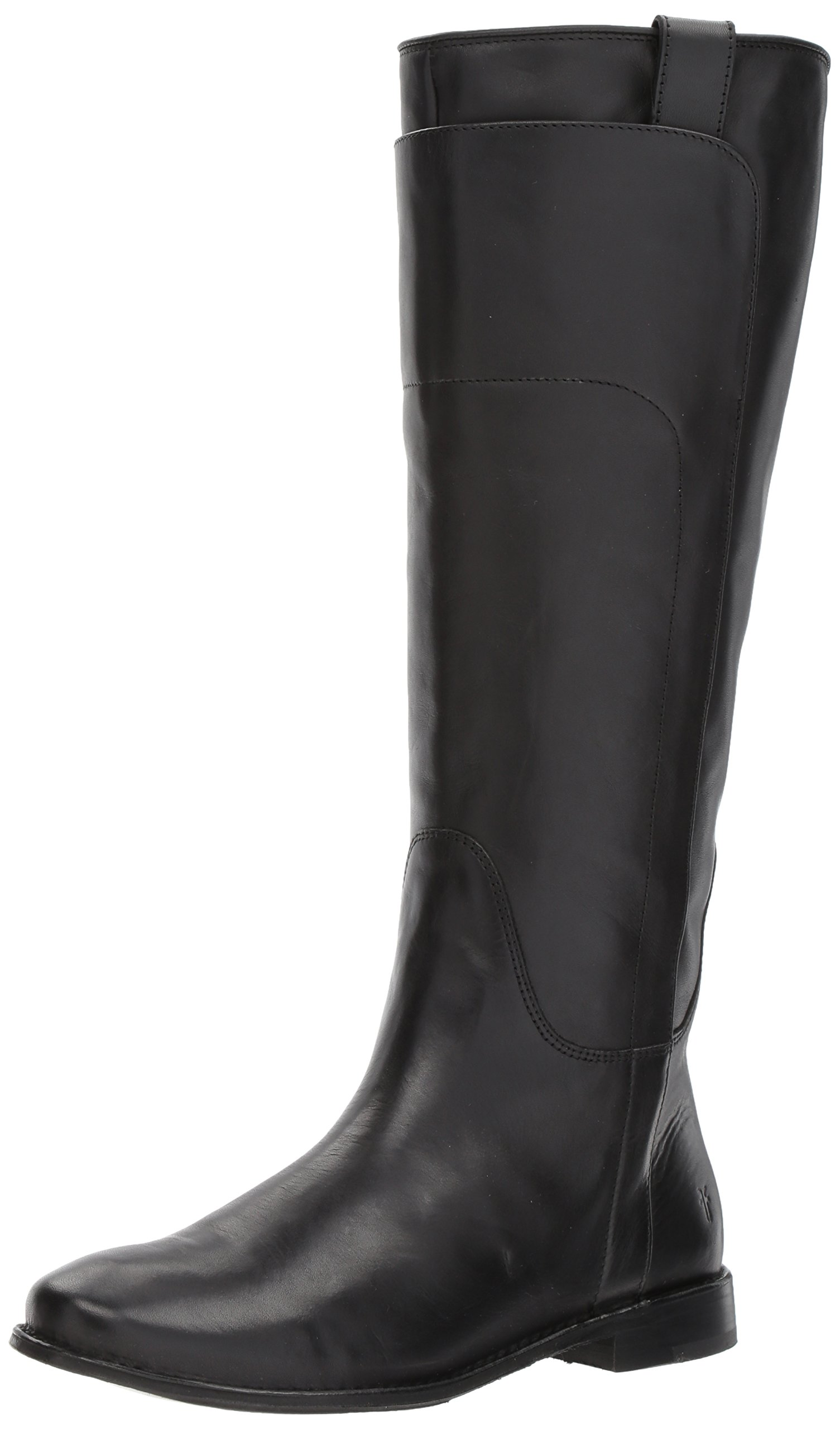 FRYE Women's Paige Tall Riding Boot, Black, 8.5 M US