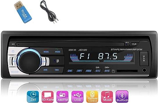 Iwalker Car Radio With Bluetooth Hands Free System Elektronik