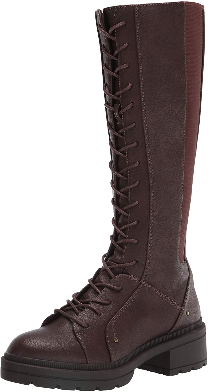 Rocket Dog women's Issa Large special price Boot Nome Pu Regular dealer Over-the-Knee