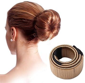 Spaufu Cheveux Chignon Perruque De Cheveux Dount Bun Disk Pince Bob