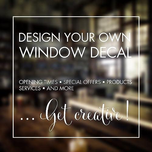 Custom Window Sticker Custom Stickers Design Your Own