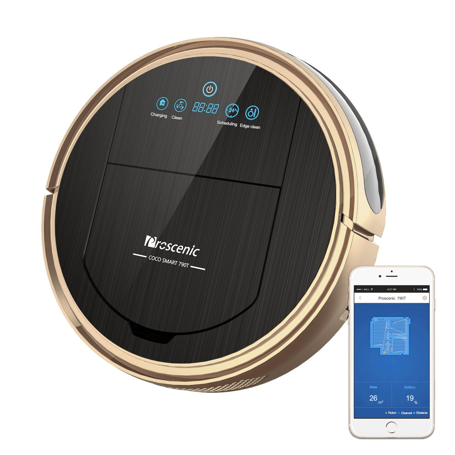 Smart Robotic Vacuum Cleaner and Mop