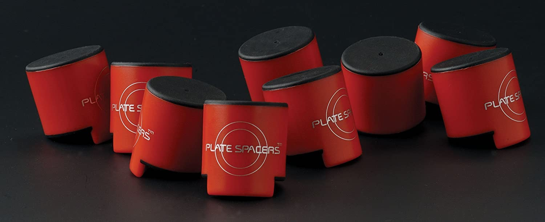 Plate Spacers Abstandhalter f/ür Teller