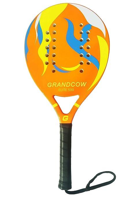 GRANDCOW Raqueta de pádel para Playa, Superficie de Fibra de ...