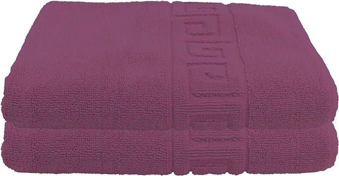 Julie Julsen 50 x 80 cm G/ästetuch in Premium Qualit/ät 900 gm2 in aktuellen Farben und 3 Gr/ö/ßen aus Baumwolle Design Spirale Pink