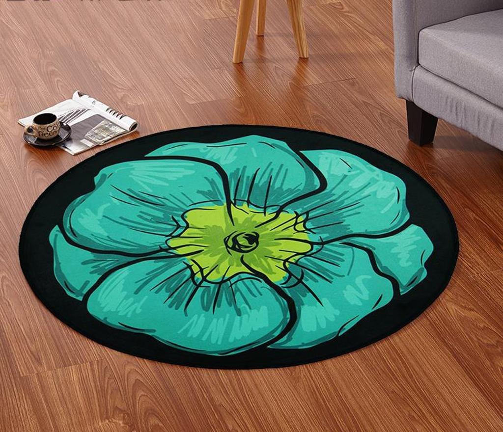 DYI European circular carpet, living room carpet, mat, bedroom carpet, 4