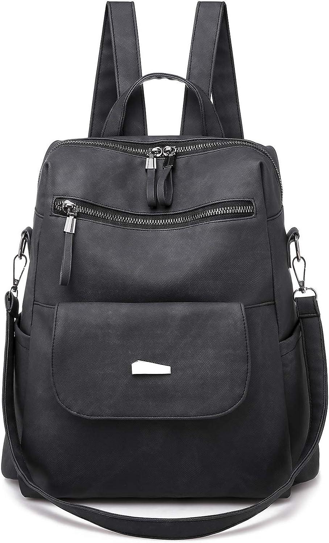 Women Backpack Purse Casual Bag Travel Anti-theft Leather Purse And Handbags Ji