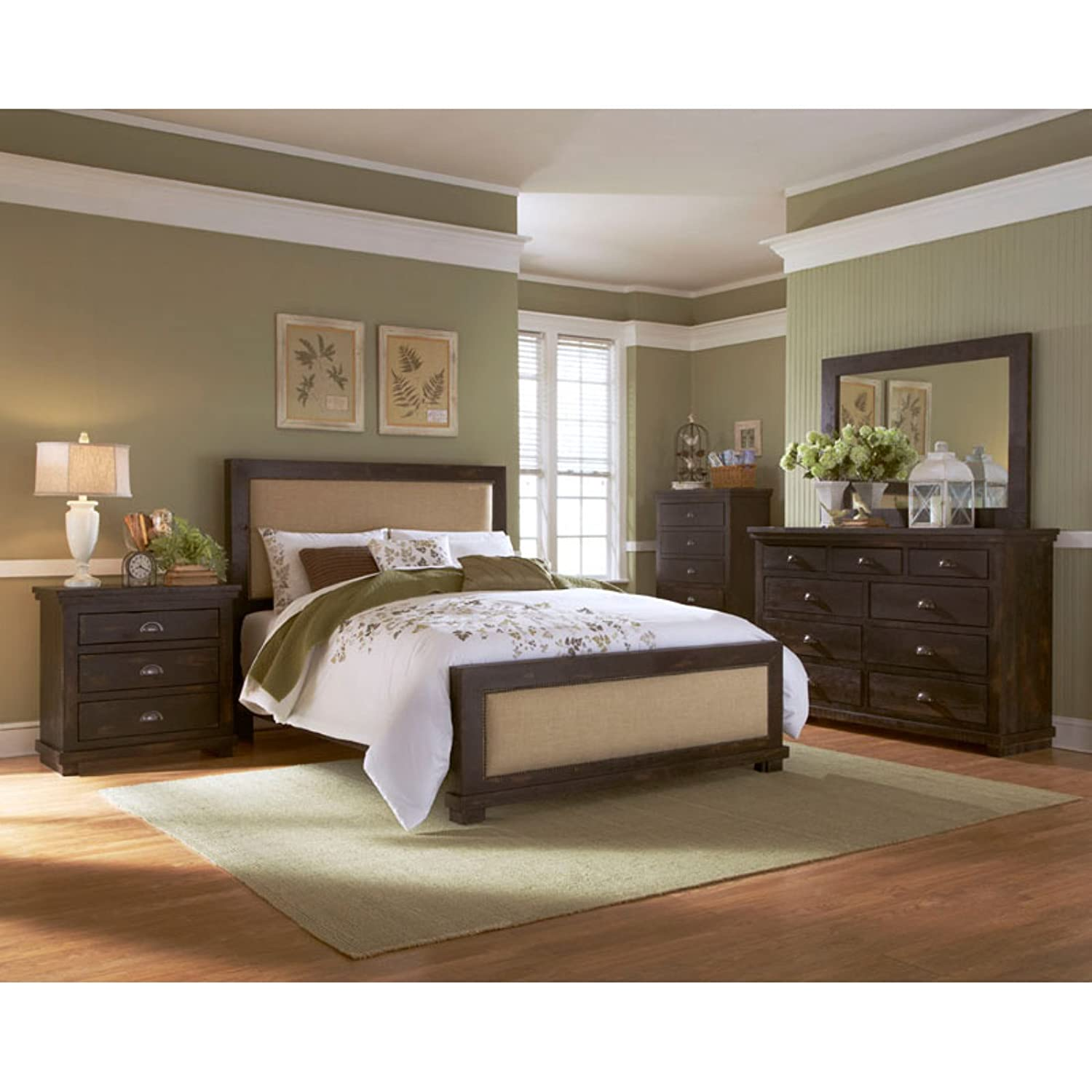 Amazon.com: Progressive Furniture Willow, Distressed Pine, 32\
