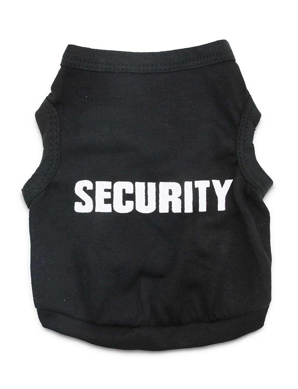 DroolingDog Hund Sicherheit Shirts Kleiner Hund Sicherheits-Kleidung-Haustier-T-Shirt f/ür Hunde