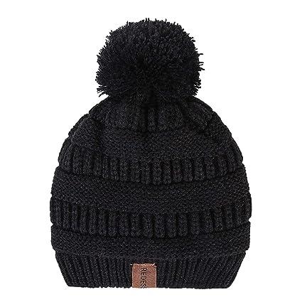 b1ee6a13e98 Amazon.com  REDESS Kids Winter Warm Fleece Lined Hat