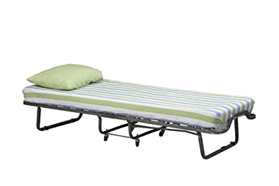 Linon Home Decor Luxor Folding Bed with Memory Foam