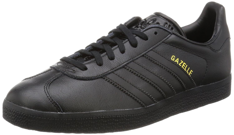 purchase cheap d4ce7 562e5 adidas Unisex-Erwachsene Gazelle Low-Top 36 2 3 EU Schwarz (Core Black Core  Black Gold Met,) - associate-degree.de