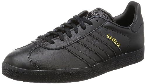 watch fc08d 47c0e adidas Gazelle, Scarpe da Ginnastica Basse Unisex – Adulto, Nero (Core Black