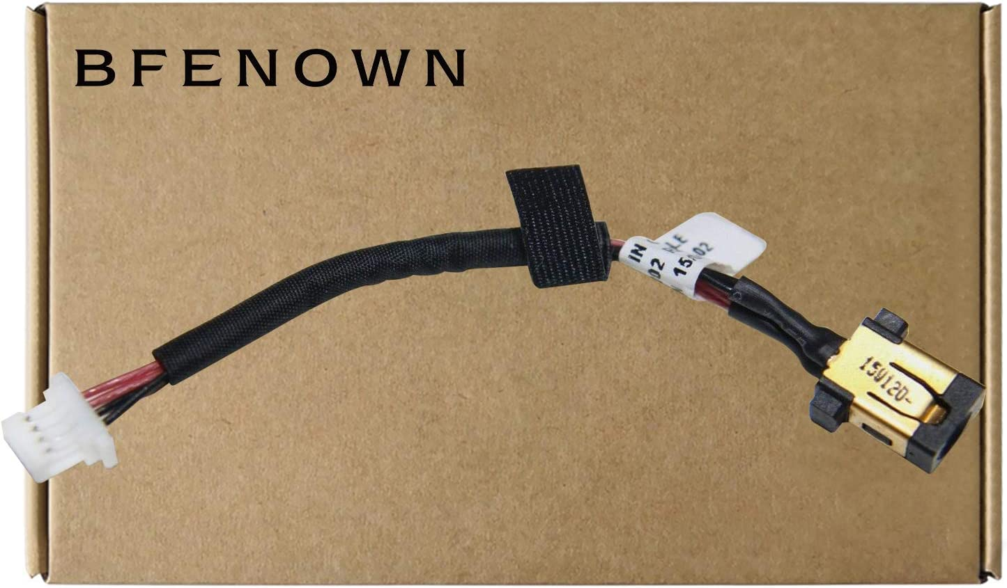 Bfenown DC Power Jack Harness Plug Cable for Acer Aspire S7 S7-191 S7-391 S7-392 Series Laptop 50.4WE05.001 50.4LZ01.001 50.4WD07.001