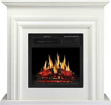 Amazon Com Jamfly 36 Wood Electric Fireplace Mantel Package