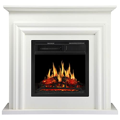 Corner Hearth: Corner Fireplace Mantels: Amazon.com