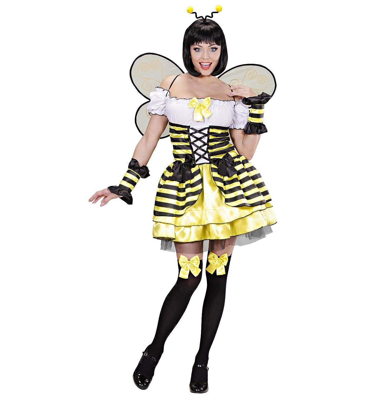 WIDMANN Das Kostümland Disfraz de abeja para mujer, talla S ...