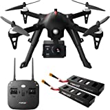 Compatible GoPro Drone with Camera 1080p – F100GP Ghost Drones with Cameras, RC HD Go Pro Camera Drone, Long Range Brushless Quadcopter w/Extra Battery