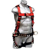 Elk River EagleLite Harness with Tongue Buckles, 3 D-Rings, Polyester/Nylon, Medium