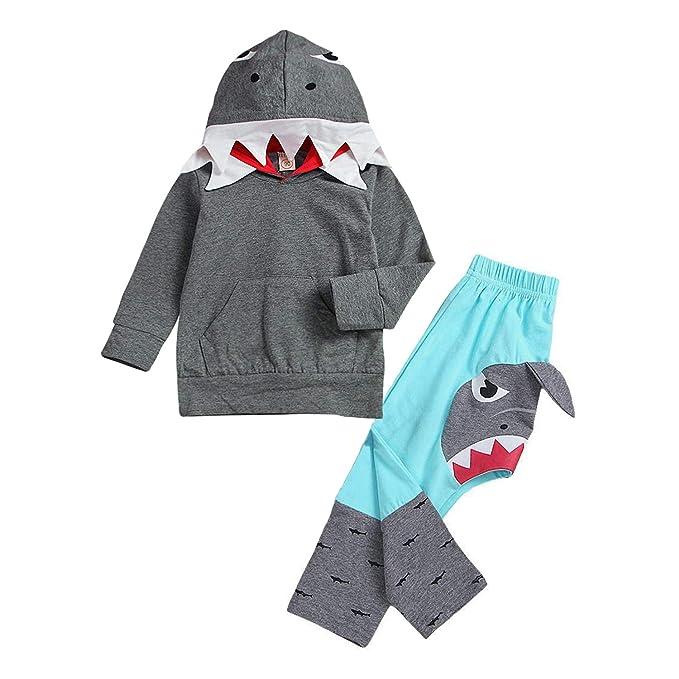 Amazon.com: GRNSHTS - Juego de ropa de tiburón para bebé ...