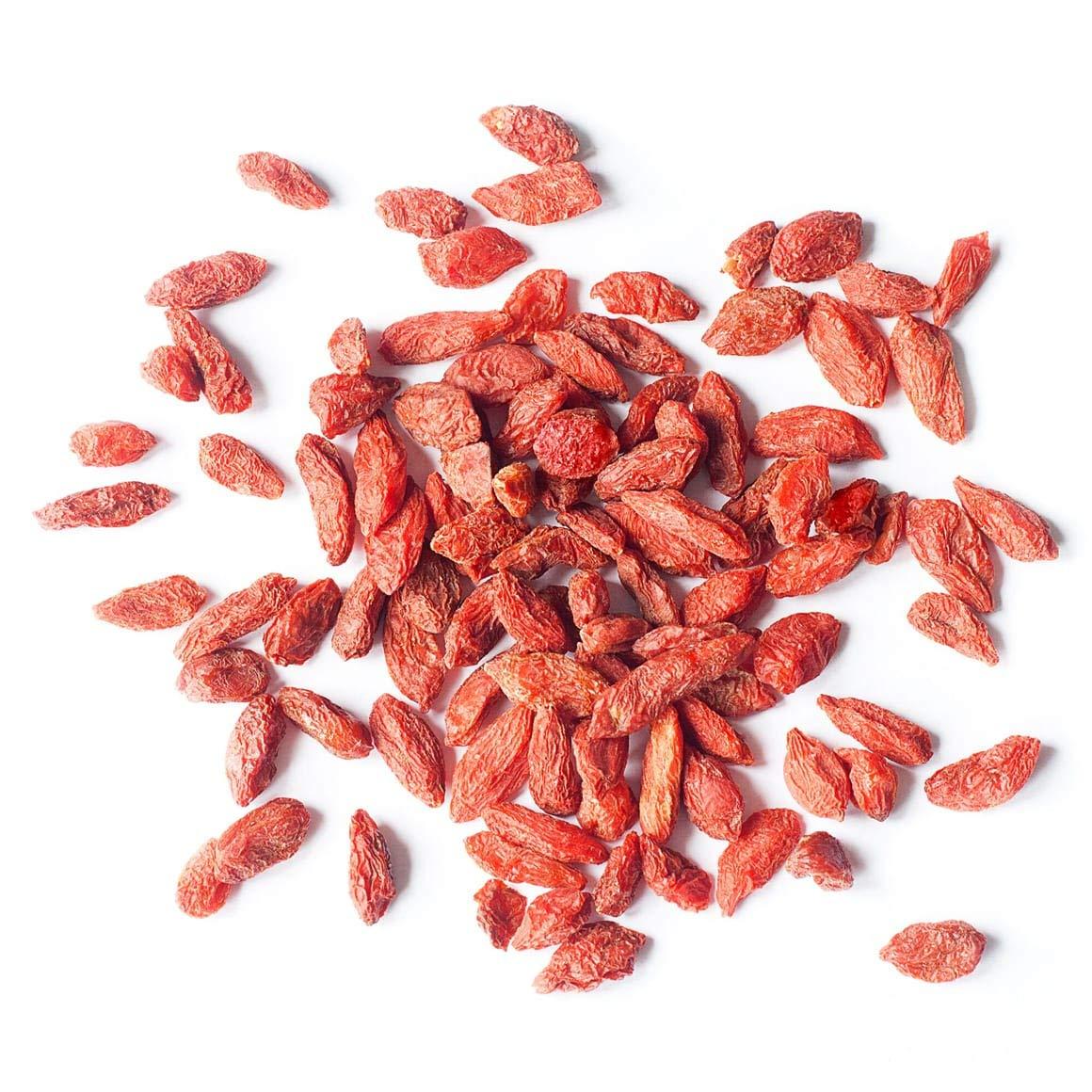 Organic Goji Berries 28 Pounds Sun Dried Large And Juicy Non Gmo Raw Vegan Bulk Amazon Com Grocery Gourmet Food