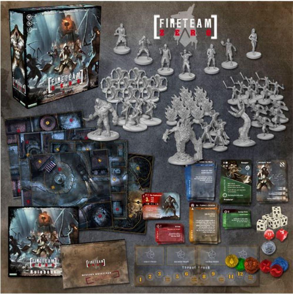 Fireteam Zero Core Set by Emergent Games: Amazon.es: Juguetes y juegos