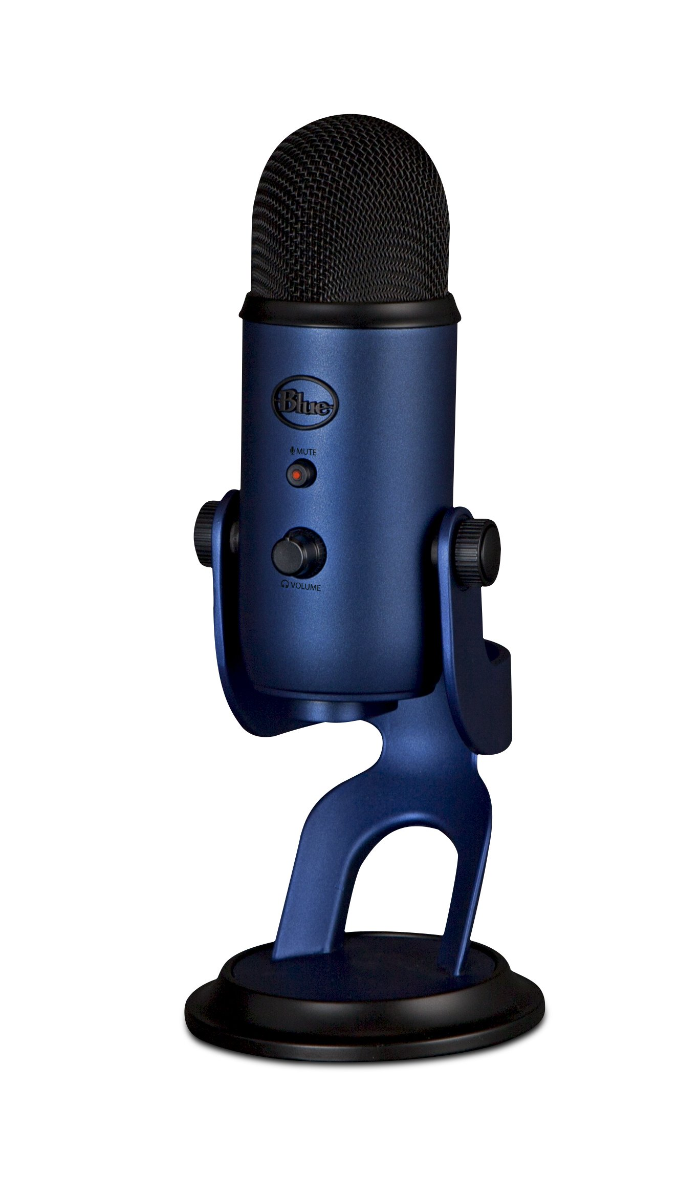 Blue Microphones Yeti USB Microphone, Midnight Blue - Renewed