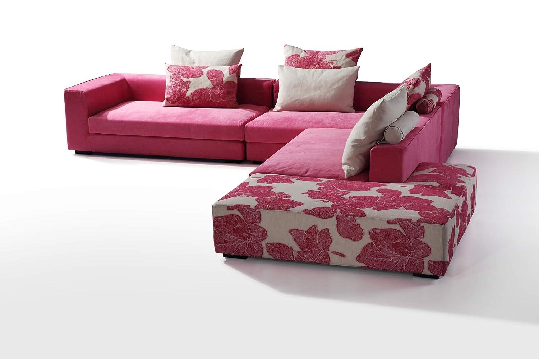 Attraktiv Wohnlandschaft Rosa Das Beste Von Elisha Sofa Ecksofa Couch Eckcouch Couchgarnitur: Concept.de: