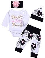 AlwaysFun Cute 4PCs Newborn Kids Baby Girl...
