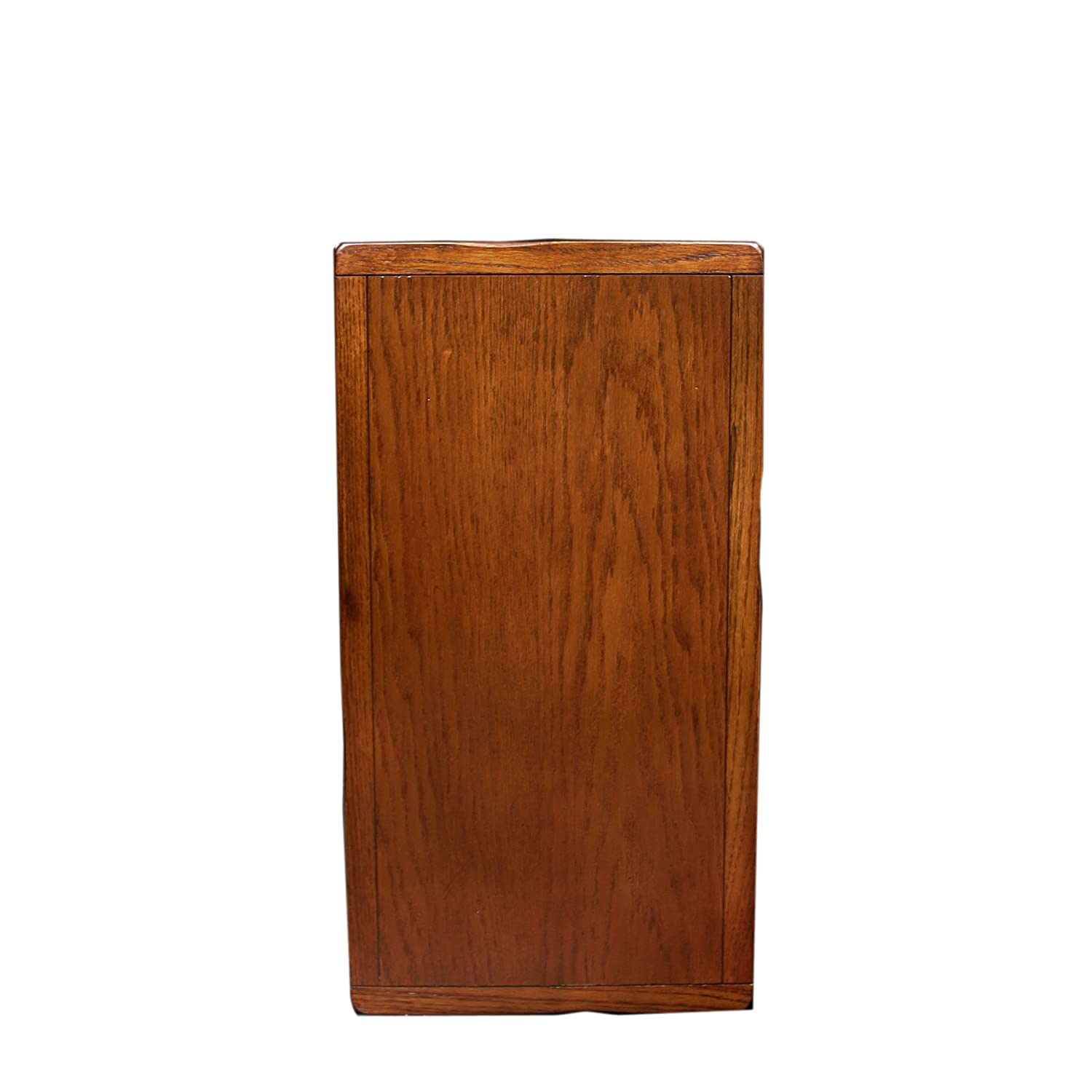 Amazon.com: Leick 10060 Rustic Oak Chairside End Table: Kitchen U0026 Dining