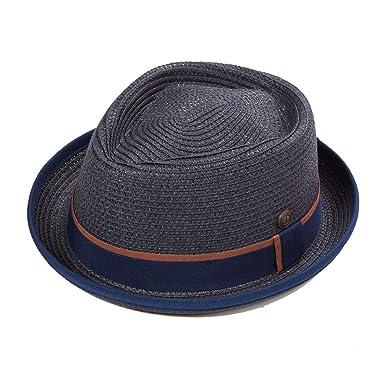 ccededf2c737bf Dasmarca Mens Summer Pork Pie Straw Hat at Amazon Men's Clothing store: