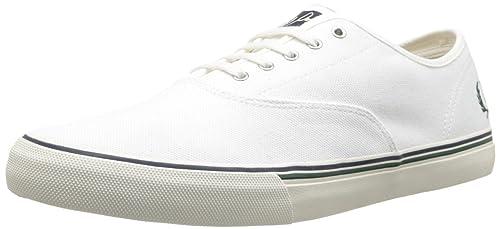 Fred Perry, Hombre Zapatillas Deportivas para Hombre Color Blanco Talla: 11: Amazon.es: Zapatos y complementos